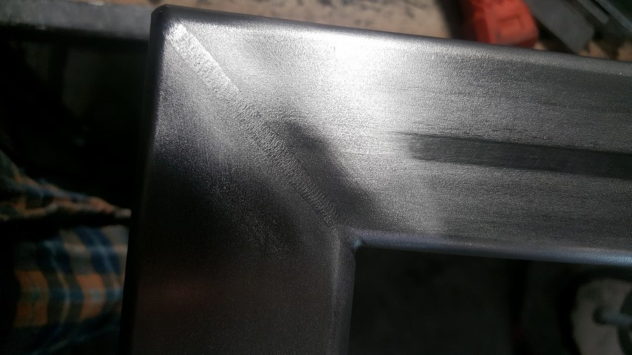Welded profile 50 X 50 - without sanding