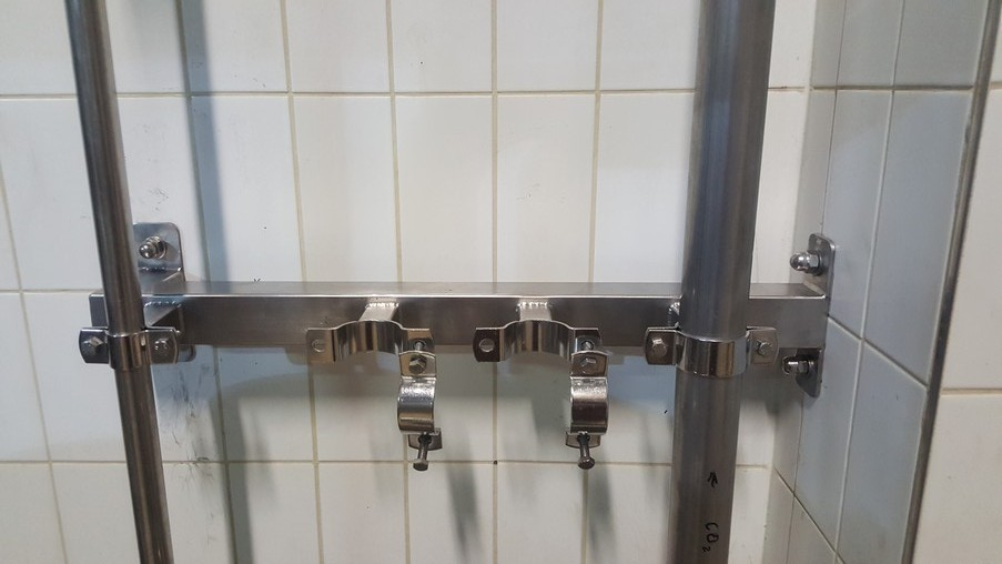 The construction of the pipe fixing clamps