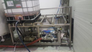 Konstrukcja pod zbiorniki